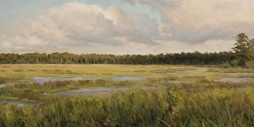 Painting of Late Afternoon