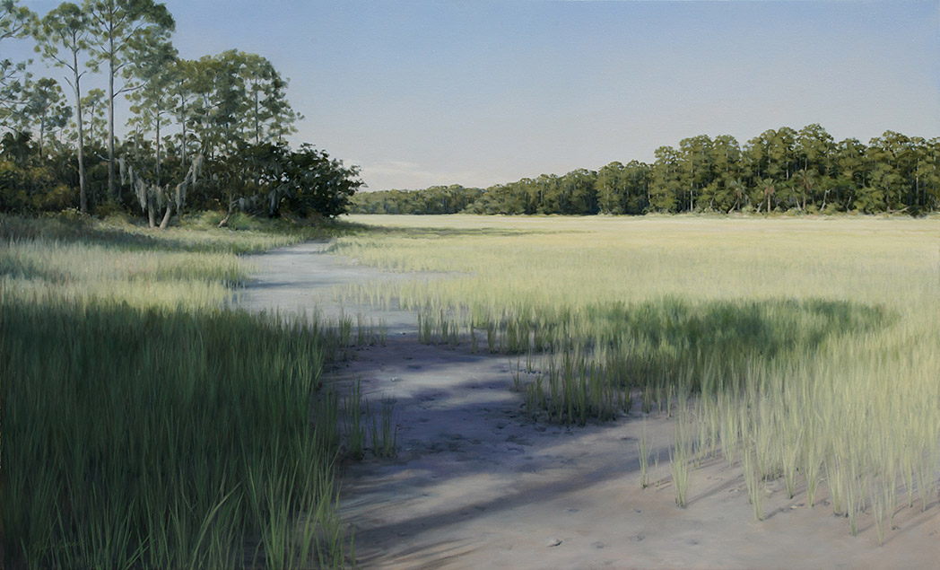 Painting of Hunting Island Marsh