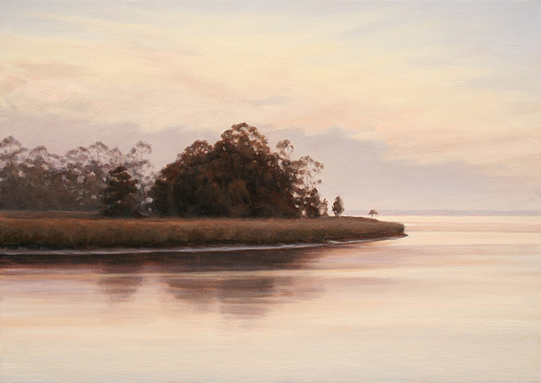 Painting of Wassaw Island