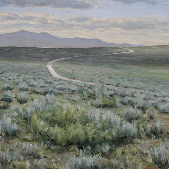 Painting of Six Mile Gap Road