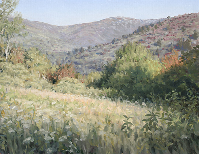 Painting of Black Balsam Knob