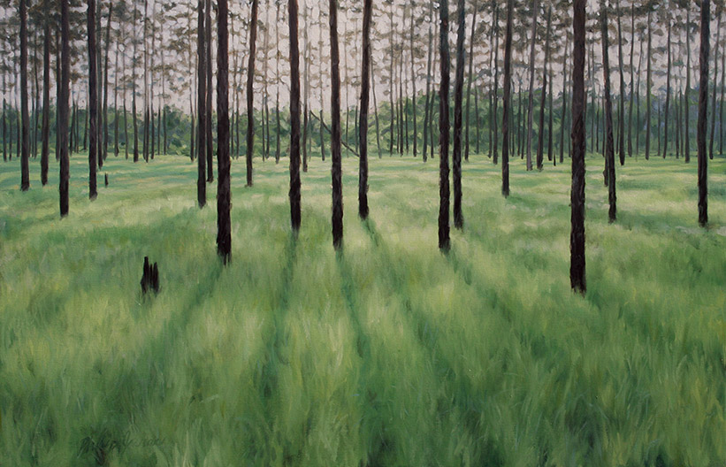 Painting of Green Swamp Savanna