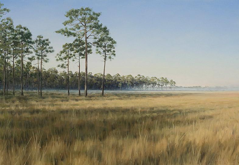Painting of Apalachicola Savanna
