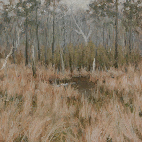 Painting of Old Beaver Pond