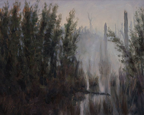 Painting of Edge of a Canebrake by Philip Juras