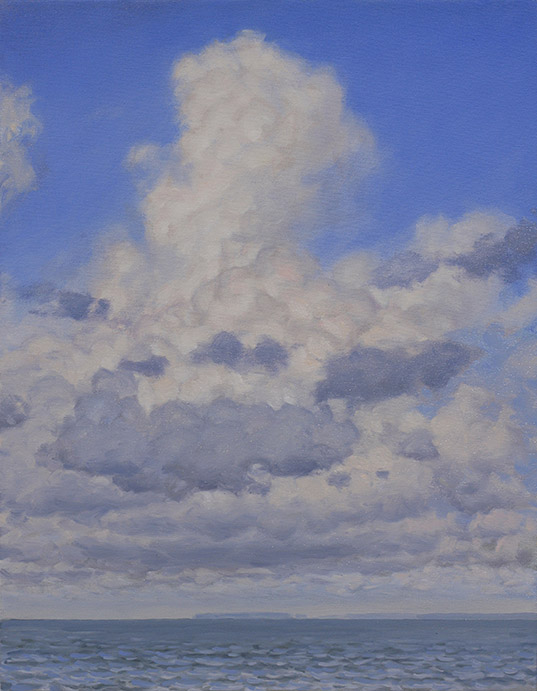 Painting of Cumulus by Philip Juras