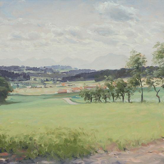 Painting of Mattenhofen