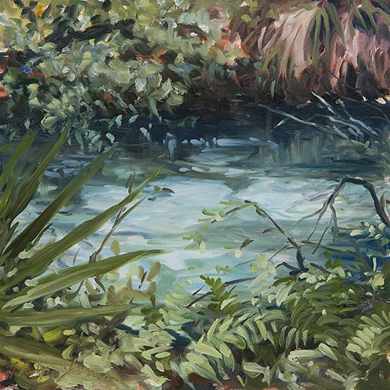 Painting of Fern Hammock Springs
