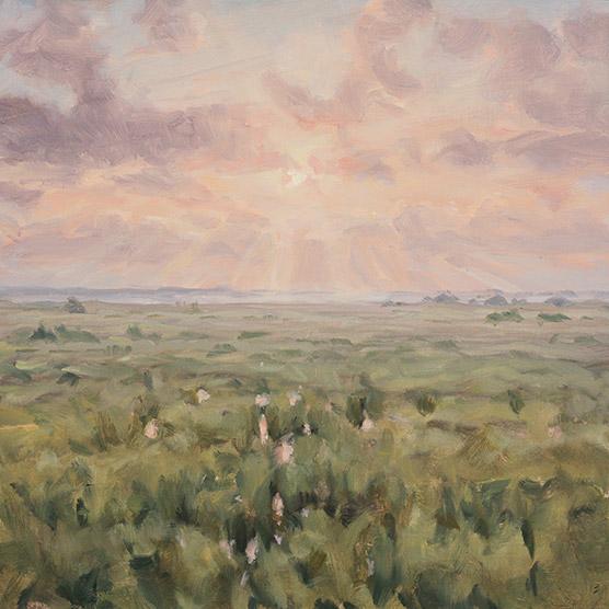 Painting of Paynes Prairie