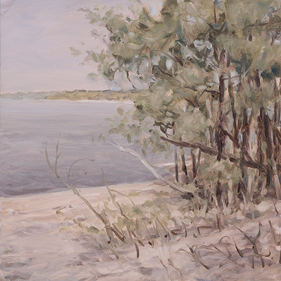 Painting of River Willows