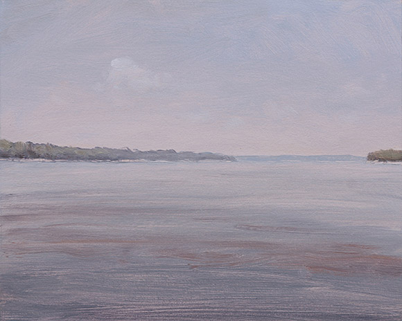 Painting of Mississippi River