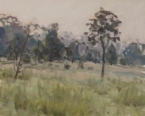Painting of Prairie Opening