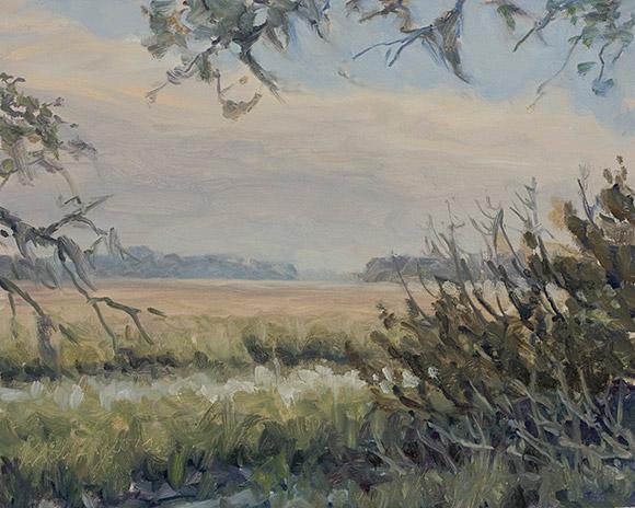 Painting of Jones Narrows 1