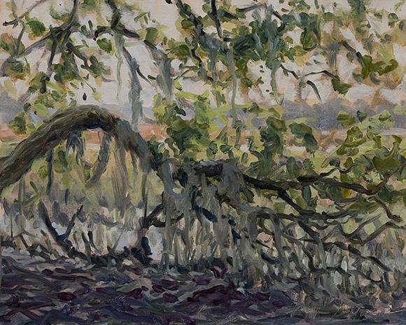 Painting of Marsh Edge