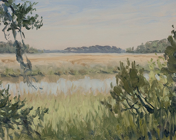 Painting of Jones Narrows 2