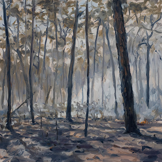 Painting of After Fire 1