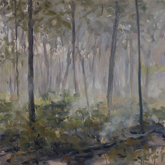 Painting of After Fire 2