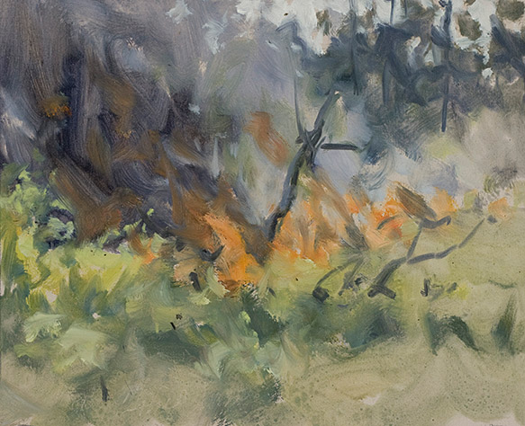 Painting of Flame Front 2