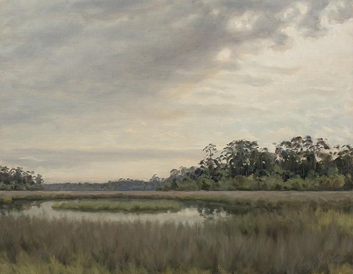 Painting of Pellicer Creek