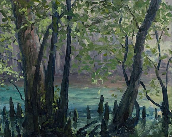Painting of Spring Run (Study)