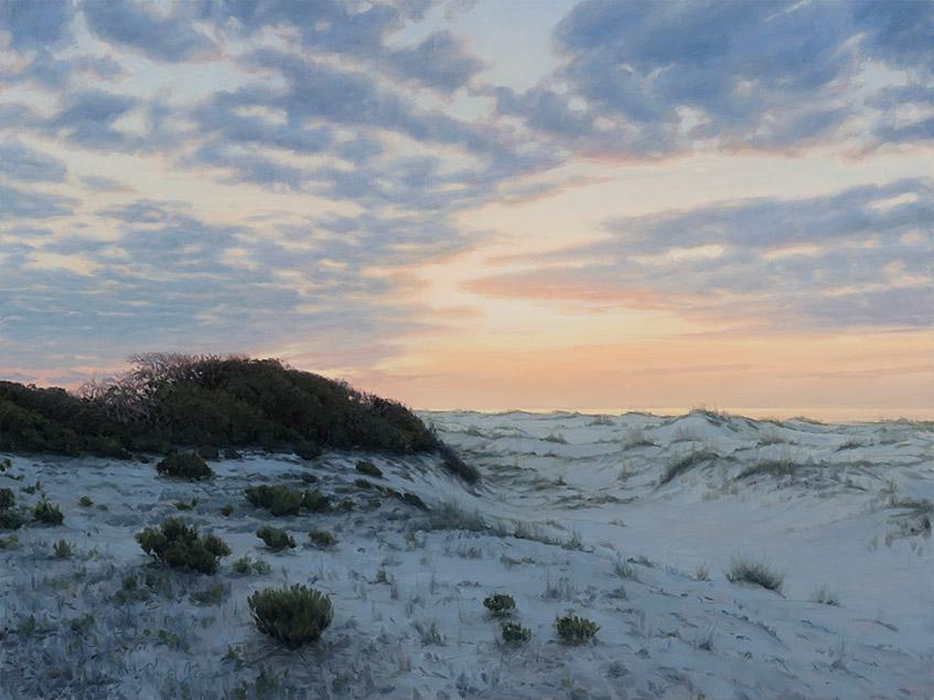 Painting of Gulf Dunes
