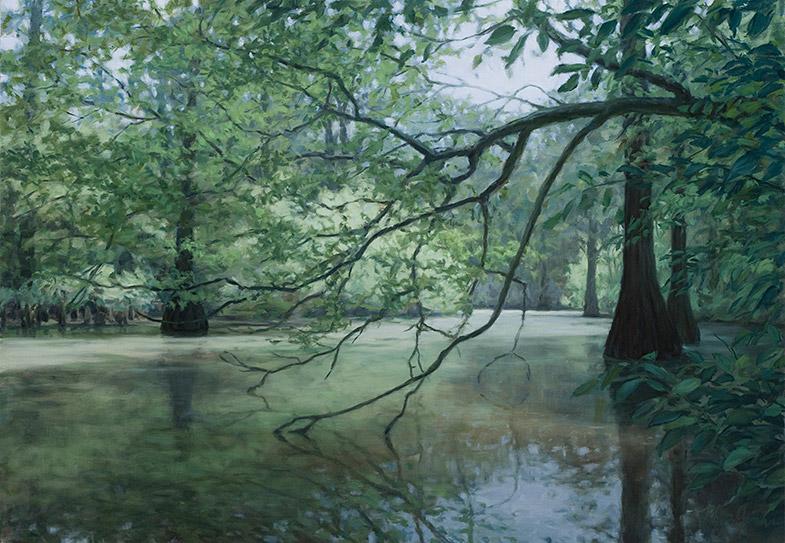 Painting of Delta Bayou
