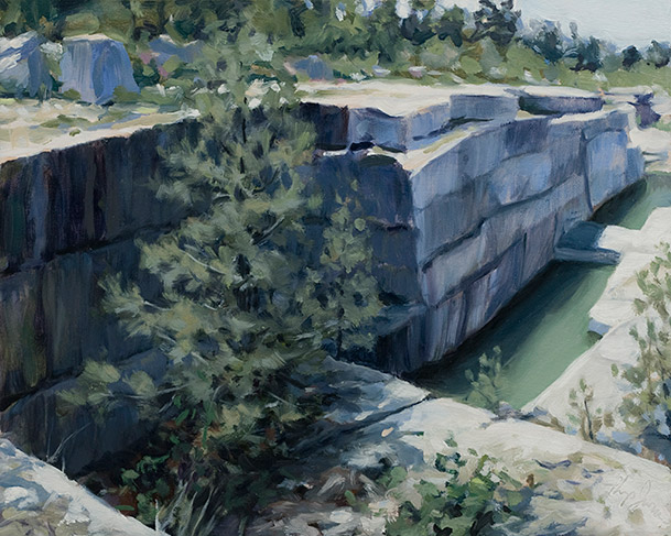 Painting of Old Quarry