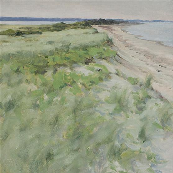 Painting of Duxbury Beach