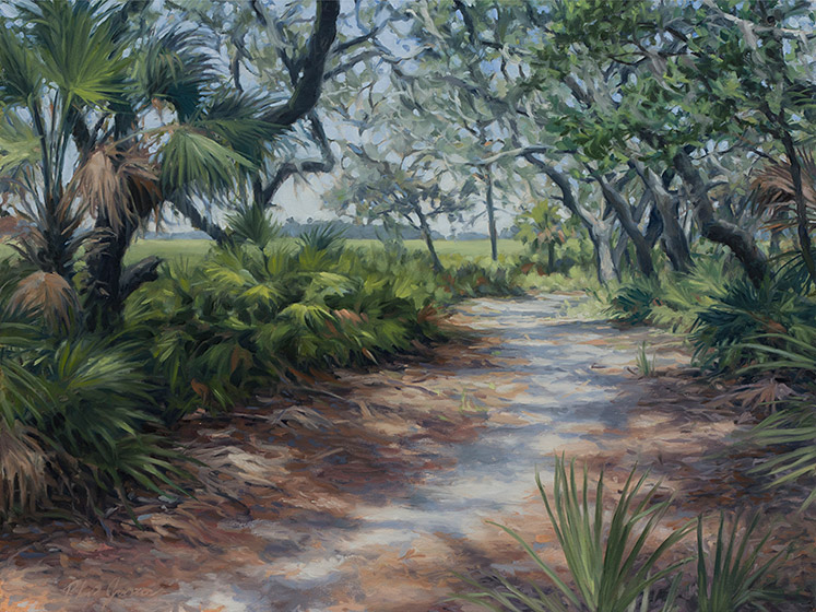 Painting of South End Road