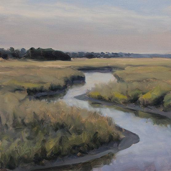 Painting of Creek Study