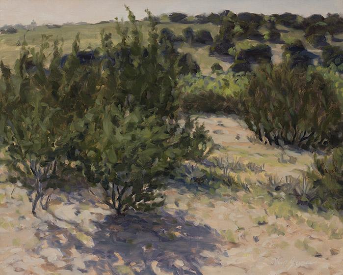 Painting of Cedars