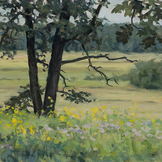 Painting of Spring Creek Prairie 1