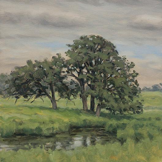 Painting of Flint Creek Savanna 1