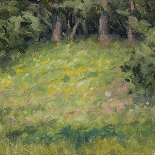 Painting of Flint Creek Savanna 2