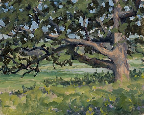 Painting of Spring Creek Prairie 3