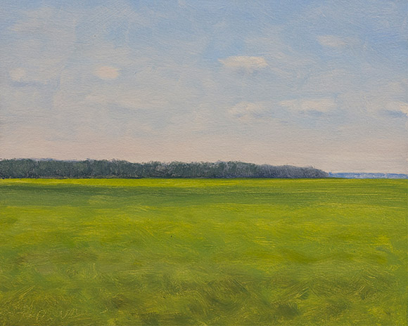 Painting of Marsh 9AM