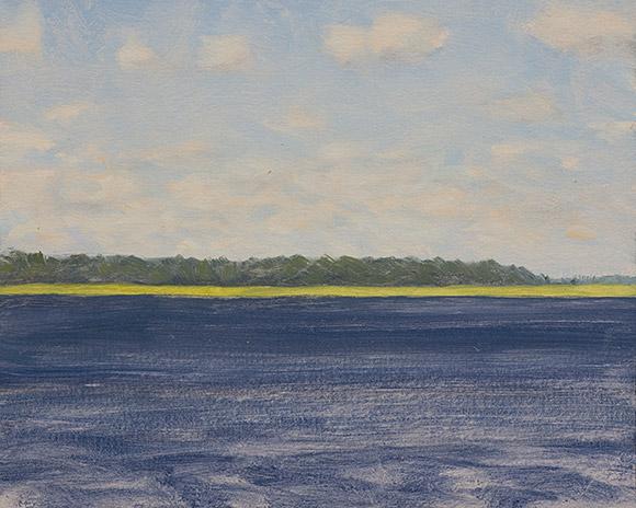Painting of Hampton River 10AM