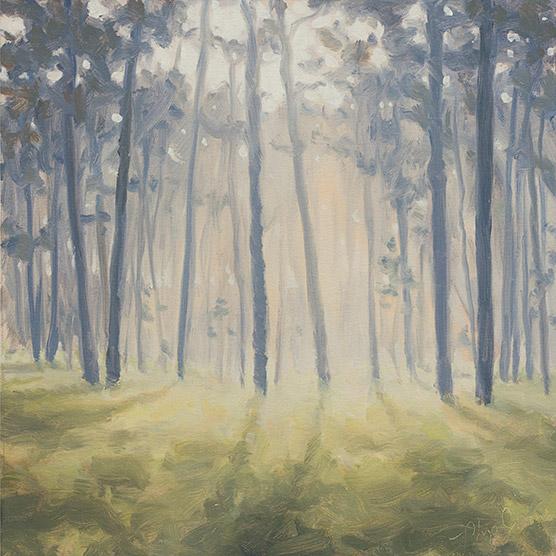 Painting of Morning Sunlight