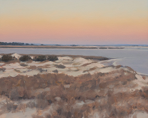 Painting of Mouth of the Altamaha
