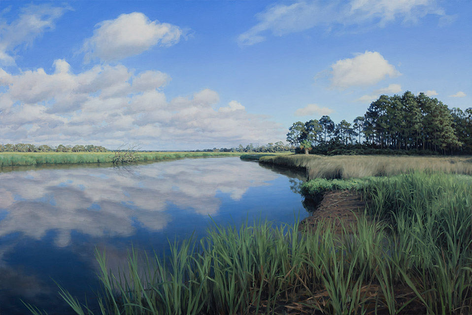 Painting of Mosquito Creek Morning