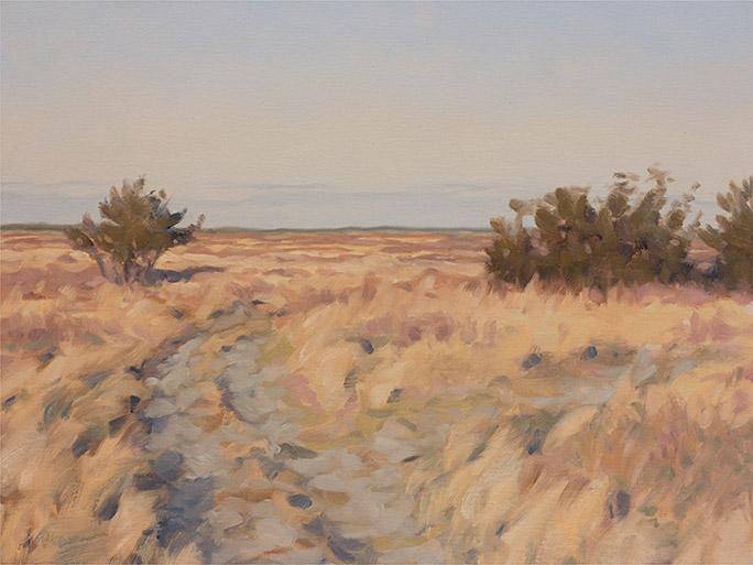 Painting of Katama Meadows