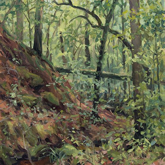 Painting of Nancy's Woods