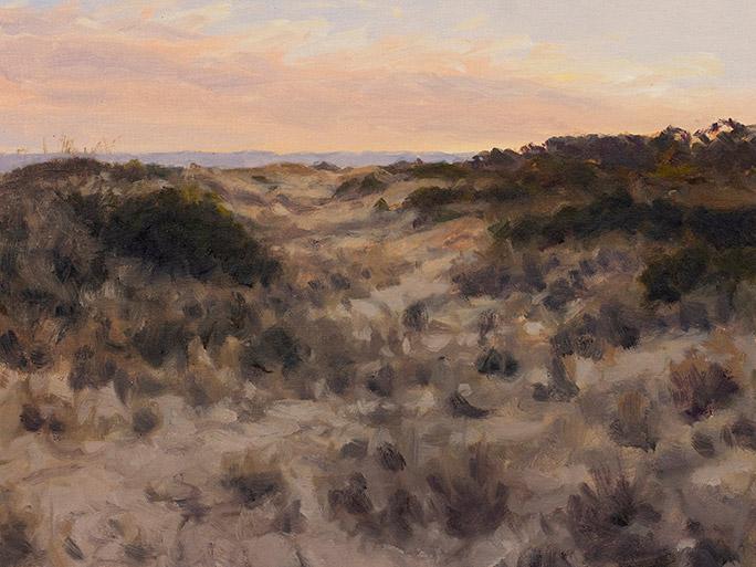 Painting of Interdune Evening