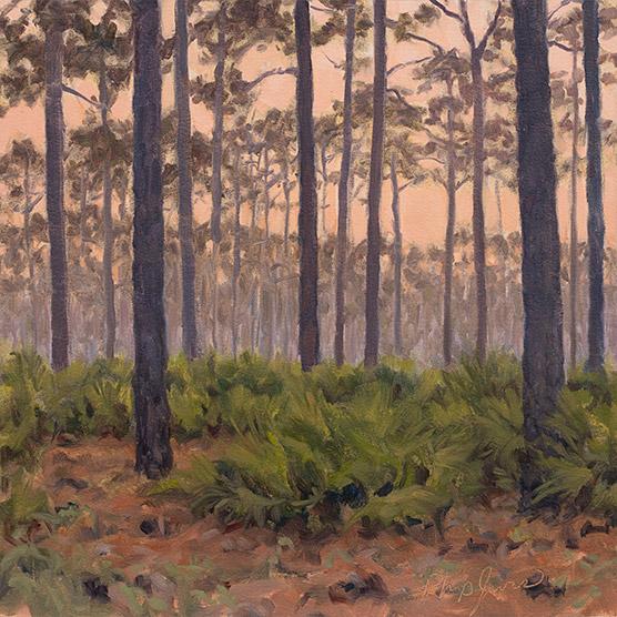 Painting of Longleaf Dawn