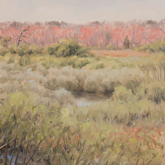 Painting of Duck Pond Maples