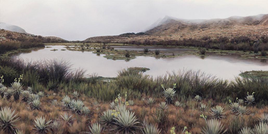 Painting of Laguna Seca
