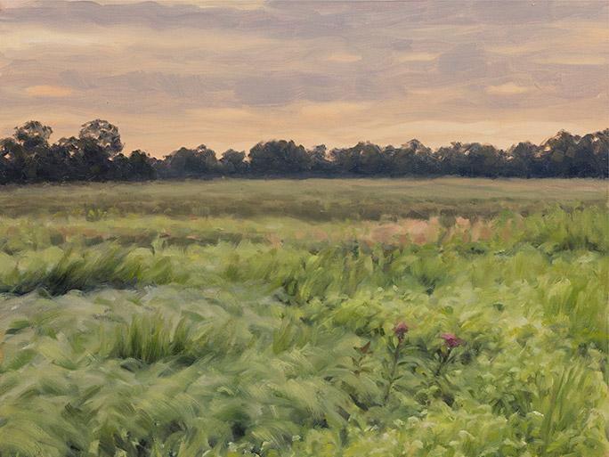 Painting of Grigsby Prairie