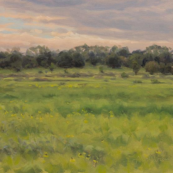 Painting of Chiwaukee Prairie