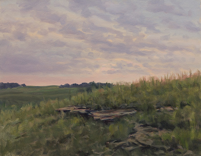 Painting of Outcrop