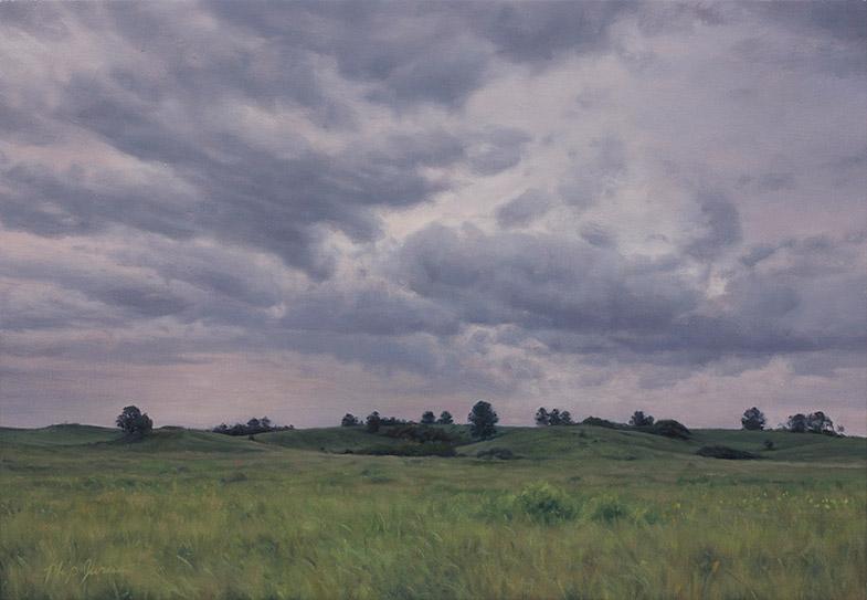 Painting of Remnant Ridge